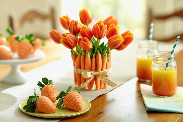 [Jeu] Association d'images - Page 3 11-inspiration-decoration-table-printemps-bouquet-tulipes-carottes-radis-rose