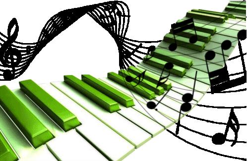 notes de musique et instruments