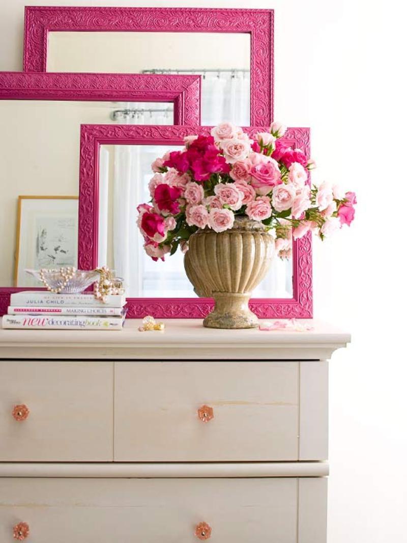 Couleur rose for Objet deco couleur