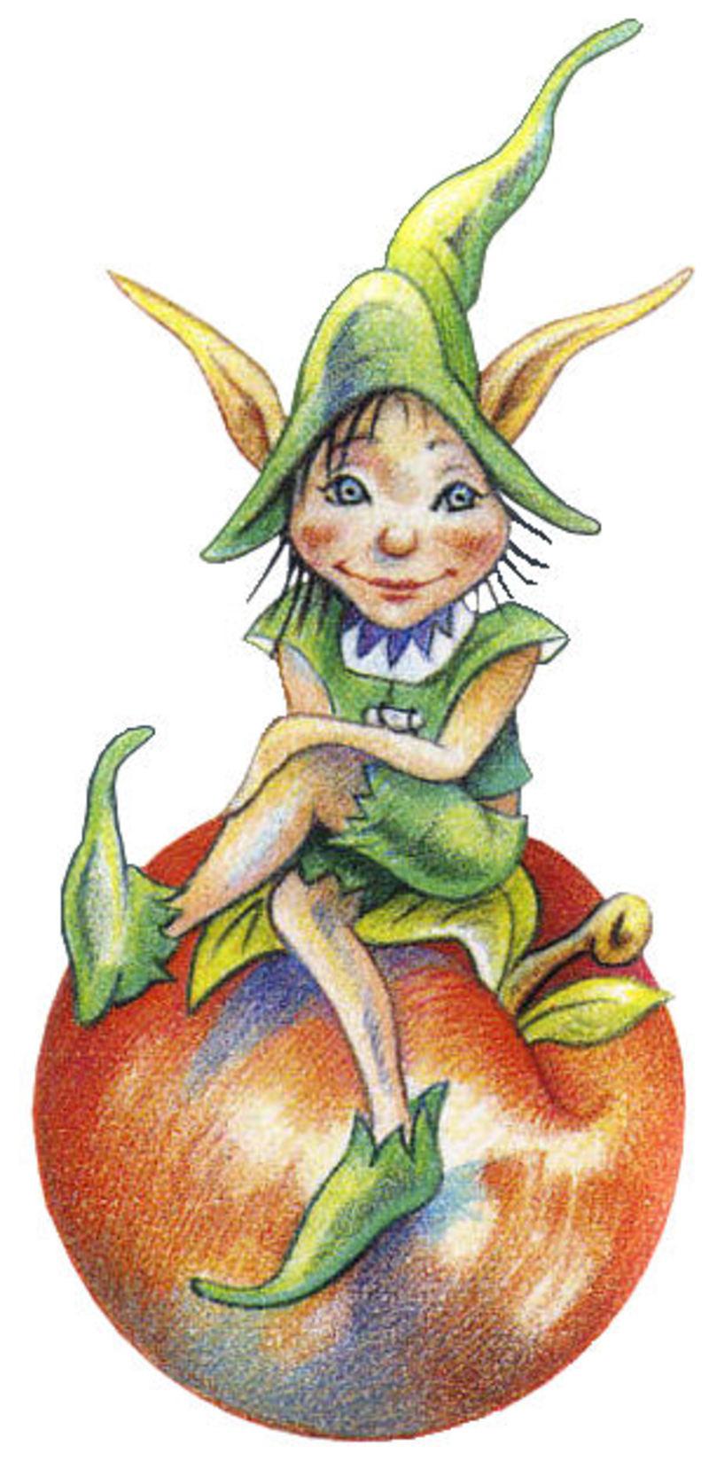 Tubes fees elfes lutins - Dessin elfes et fees ...