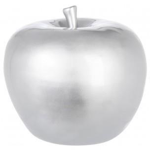 Couleur argent - Pomme ceramique pour decoration ...